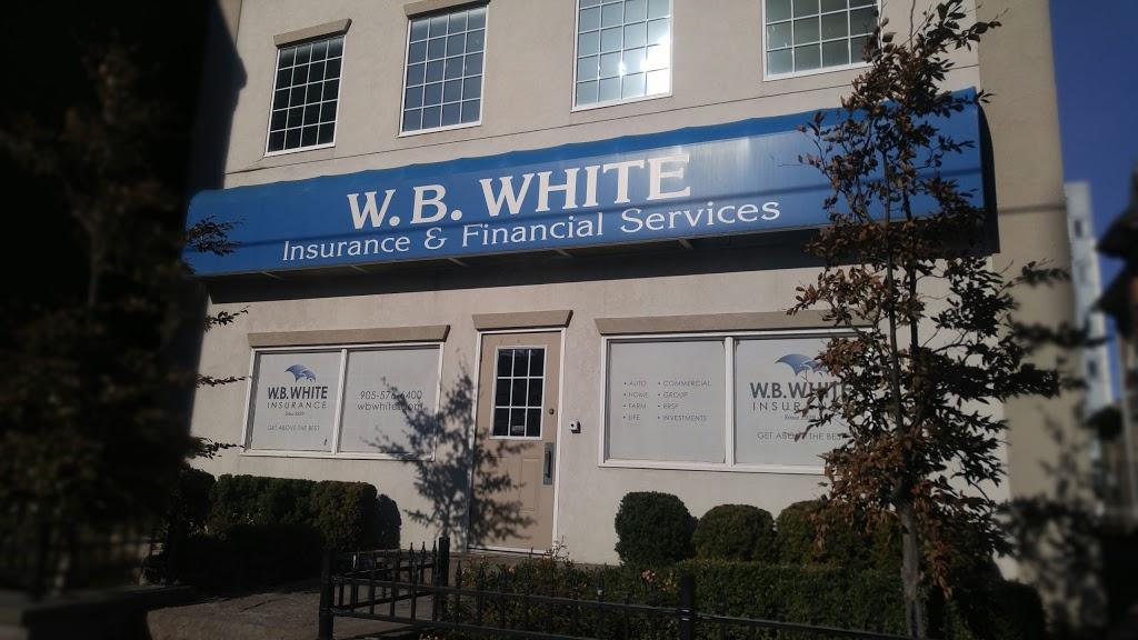 W B White Insurance Ltd | insurance agency | 110 King St E, Oshawa, ON L1H 1B6, Canada | 9055766400 OR +1 905-576-6400