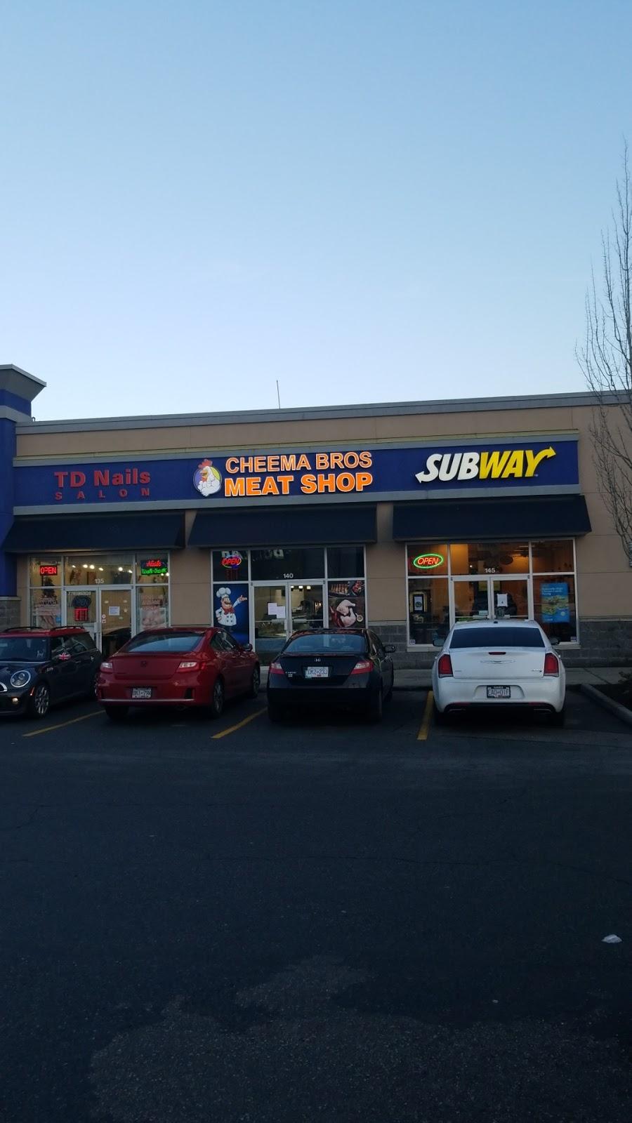 Cheema Bros. Meat Shop | store | 12477 88 Ave #140, Surrey, BC V3W 1P8, Canada | 6045932220 OR +1 604-593-2220