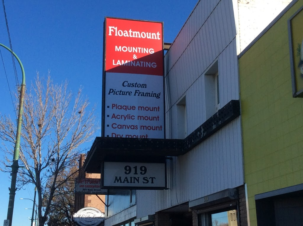 Floatmount-Mounting & Laminating   store   919 Main St, Winnipeg, MB R2W 3P2, Canada   2049448767 OR +1 204-944-8767