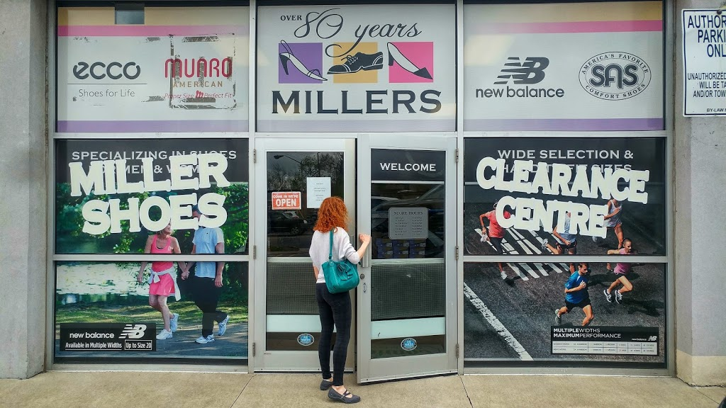 Miller shoes clearance centre | clothing store | 1051 Upper James St, Hamilton, ON L9C 3A6, Canada