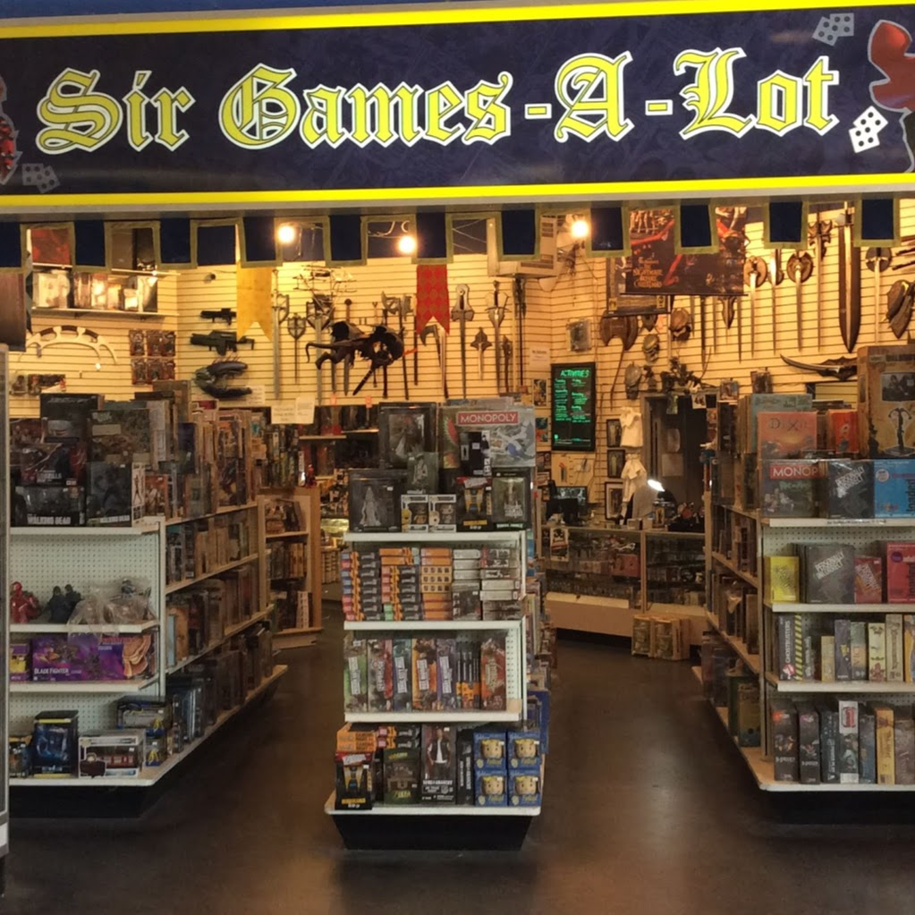 Sir Games-A-Lot | store | 320 Bayfield St, Barrie, ON L4M 3C1, Canada | 7057191291 OR +1 705-719-1291