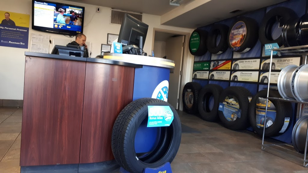 Fountain Tire | car repair | 9637 111 Ave NW, Edmonton, AB T5G 0A9, Canada | 7807588500 OR +1 780-758-8500