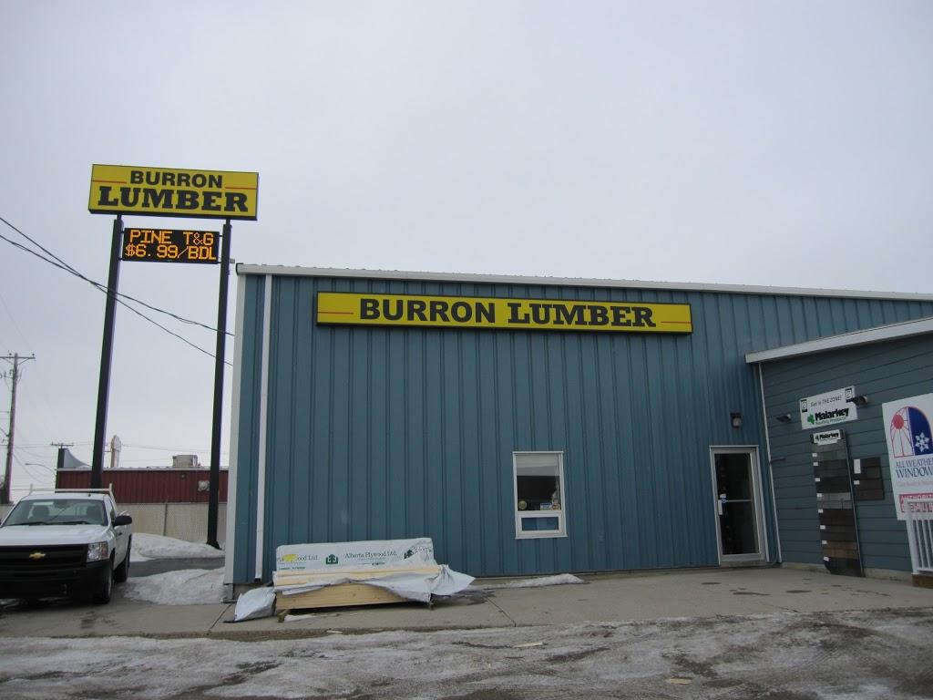 Burron Lumber | store | 922 43 St E, Saskatoon, SK S7K 6H2, Canada | 3066520343 OR +1 306-652-0343