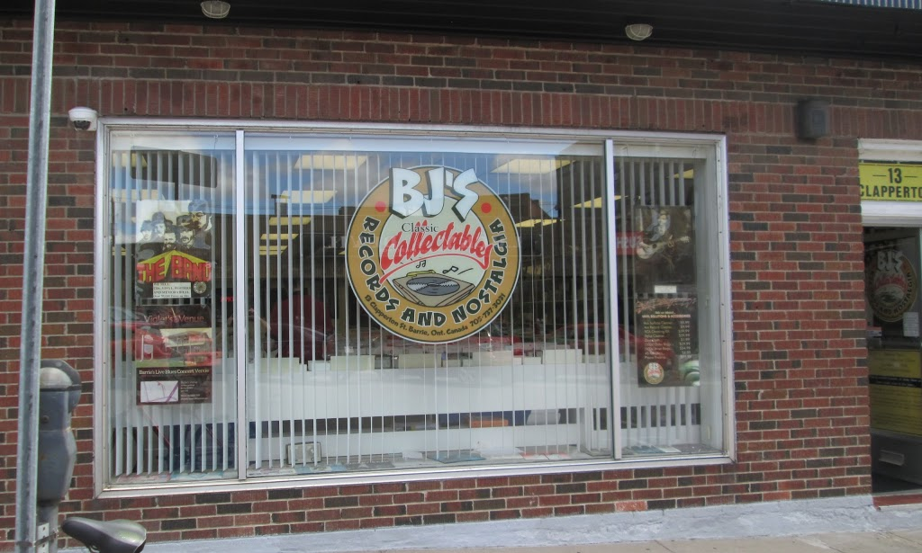 BJ Records & Nostalgia | electronics store | 13 Clapperton St, Barrie, ON L4M 3E4, Canada | 7057373031 OR +1 705-737-3031