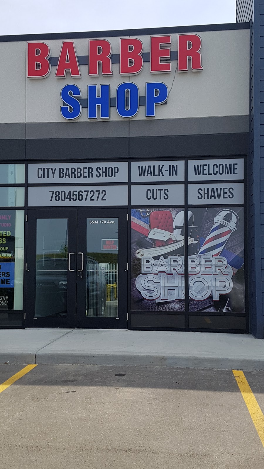City Barbershop | hair care | 6534 170 Ave NW, Edmonton, AB T5Y 0P5, Canada | 7804567272 OR +1 780-456-7272