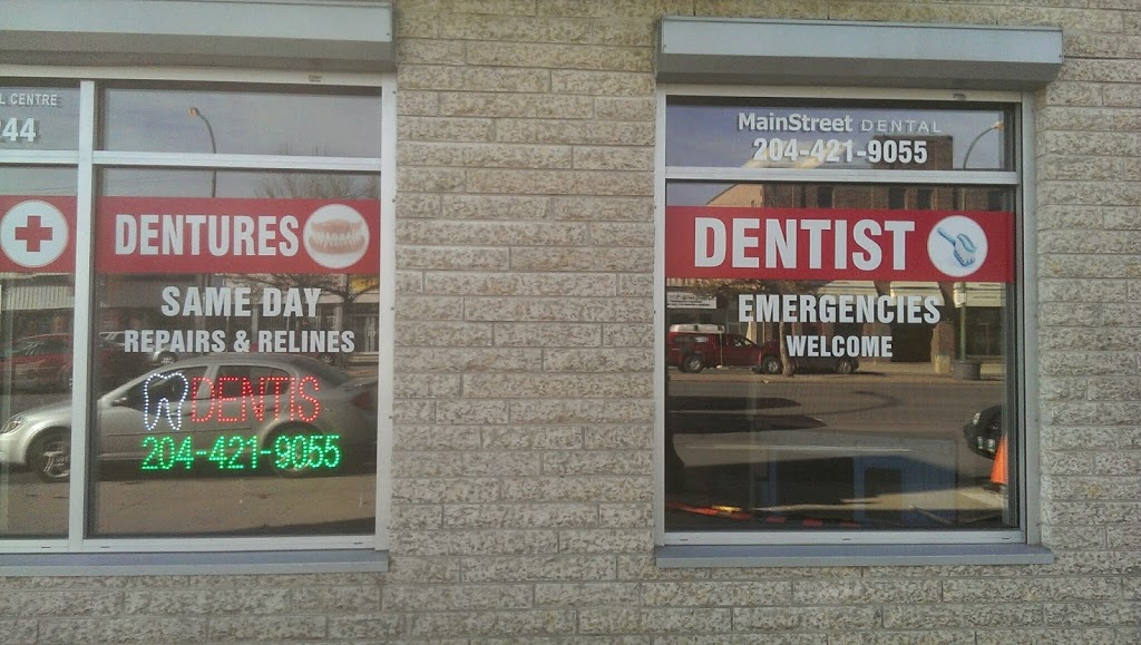 Main Street Dental Centre | dentist | 906 Main St, Winnipeg, MB R2W 3P3, Canada | 2044219055 OR +1 204-421-9055