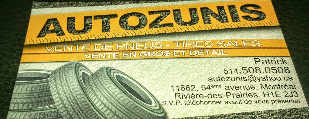 AUTOZUNIS | car repair | 11862 54e Avenue, Montréal, QC H1E 1M9, Canada | 5145080508 OR +1 514-508-0508