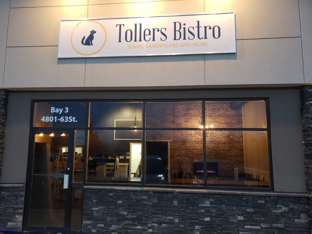 Tollers Bistro | bakery | 2-4801 63 St Bay 2, Lacombe, AB T4L 0H8, Canada | 4037868400 OR +1 403-786-8400