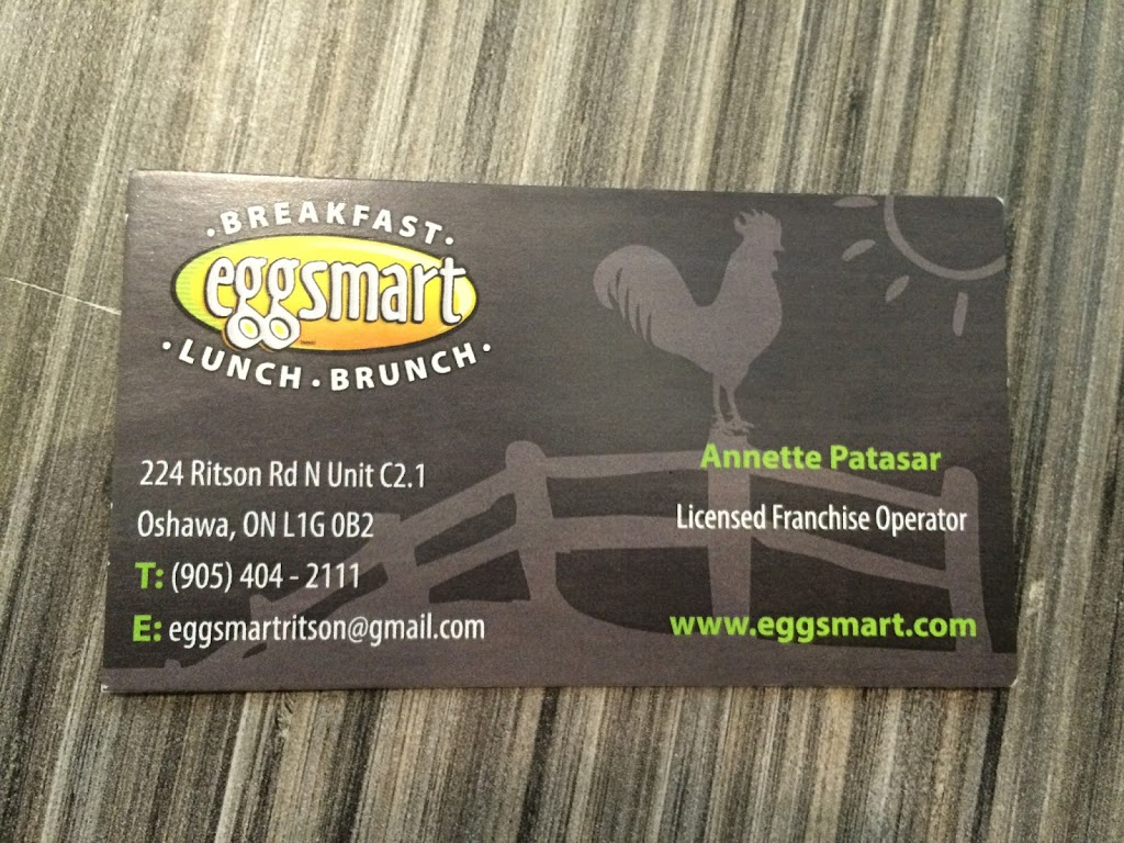 Eggsmart | restaurant | 224 Ritson Rd N unit c2.1, Oshawa, ON L1G 1Z7, Canada | 9054042111 OR +1 905-404-2111