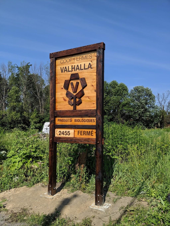 Coop des Fermes de Valhalla Montreal | point of interest | 2455 Chemin de la Bataille, Saint-Jean-sur-Richelieu, QC J2W 1B9, Canada | 5147551308 OR +1 514-755-1308