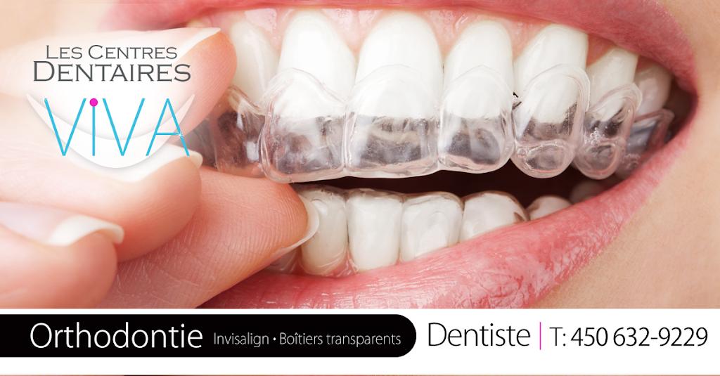Les Centres Dentaires VIVA - St-Constant | dentist | 93 Rue St Pierre, Saint-Constant, QC J5A 1G7, Canada | 4506329229 OR +1 450-632-9229