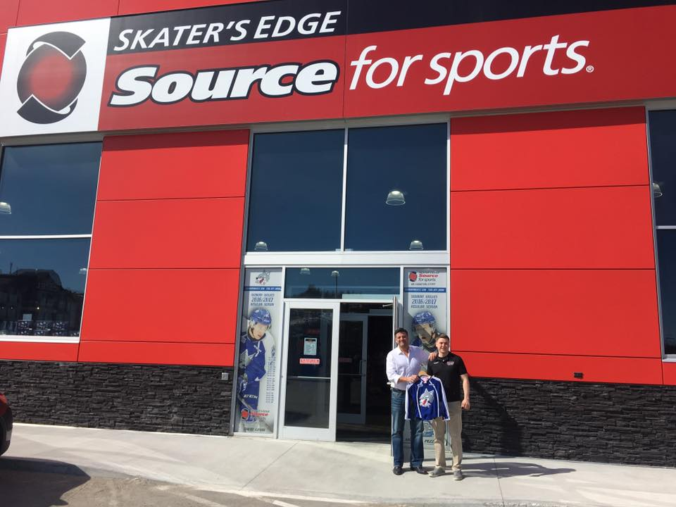 Skaters Edge Source For Sports | clothing store | 1338 Kingsway #1, Sudbury, ON P3B 0A3, Canada | 7055661422 OR +1 705-566-1422