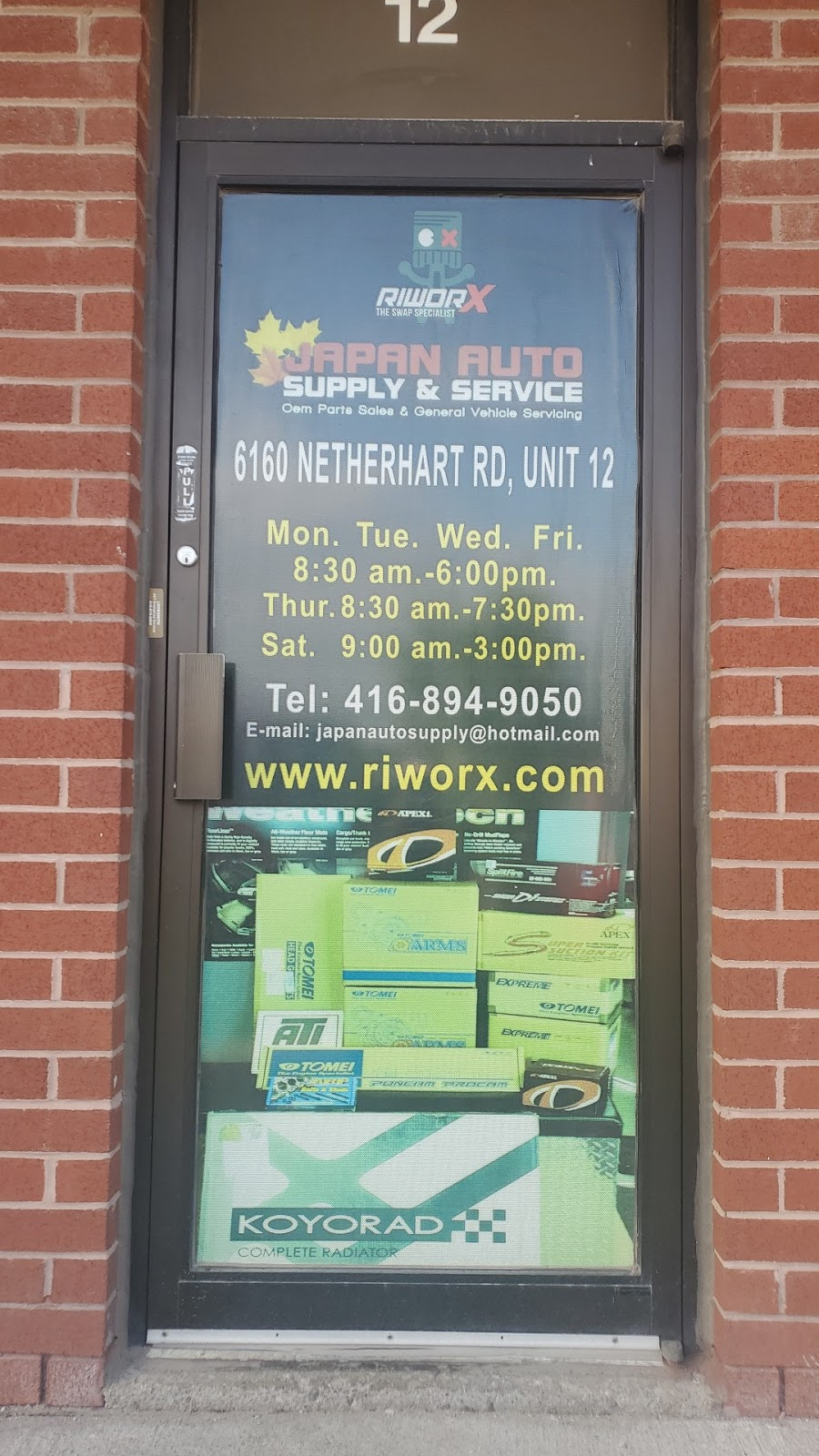RiworX   car repair   6160 Netherhart Rd #12, Mississauga, ON L5T 2G6, Canada   4168949050 OR +1 416-894-9050