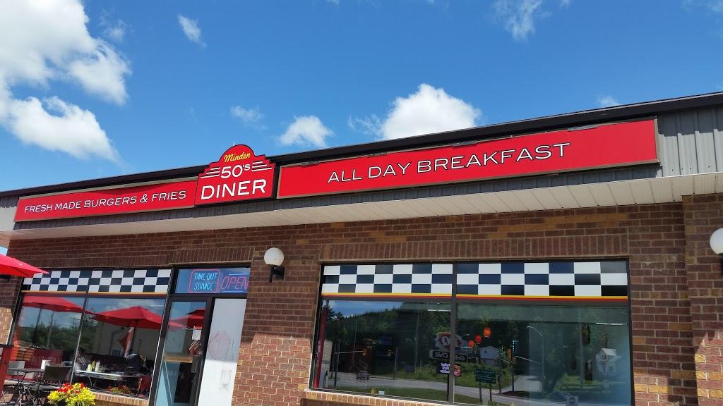 Minden 50s Diner   restaurant   12311 ON-35, Minden, ON K0M 2K0, Canada   7052862626 OR +1 705-286-2626