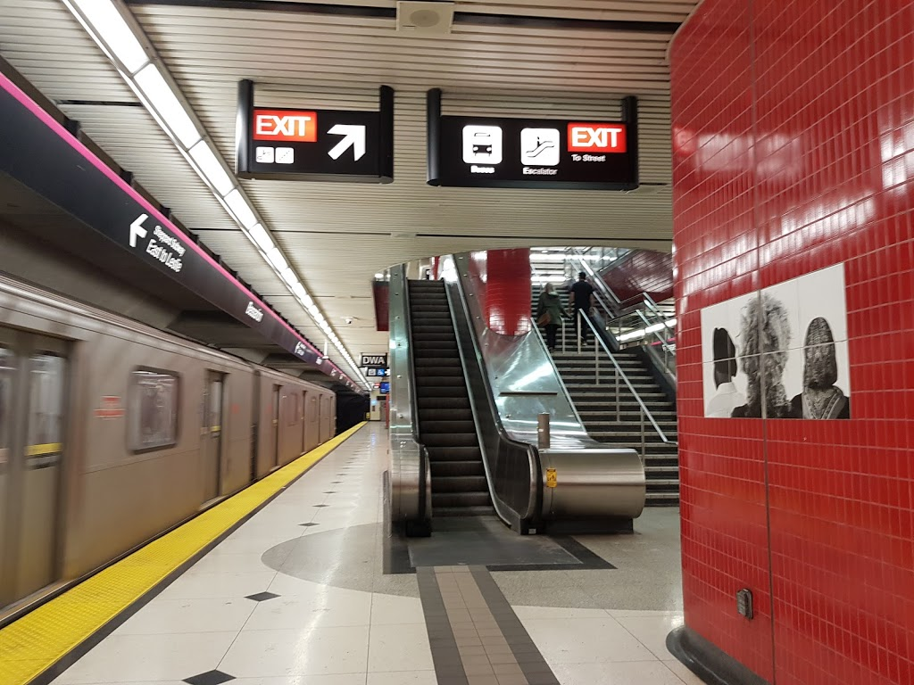 Bessarion Station - Eastbound Platform | subway station | Toronto, ON M2K 3C9, Canada