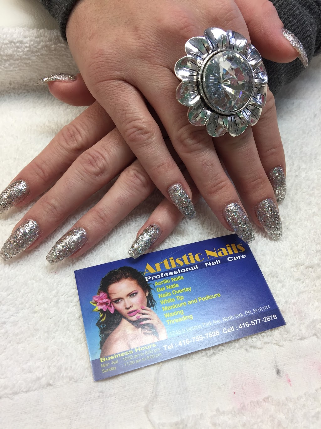 Artistic Nails | point of interest | 1748 B Victoria Park Ave, North York, ON M1R 1R4, Canada | 4167557526 OR +1 416-755-7526
