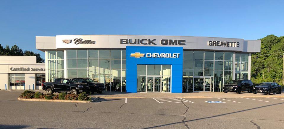 Greavette Chevrolet Buick Cadillac GMC Ltd | car dealer | 375 Ecclestone Dr, Bracebridge, ON P1L 1T6, Canada | 7056452241 OR +1 705-645-2241