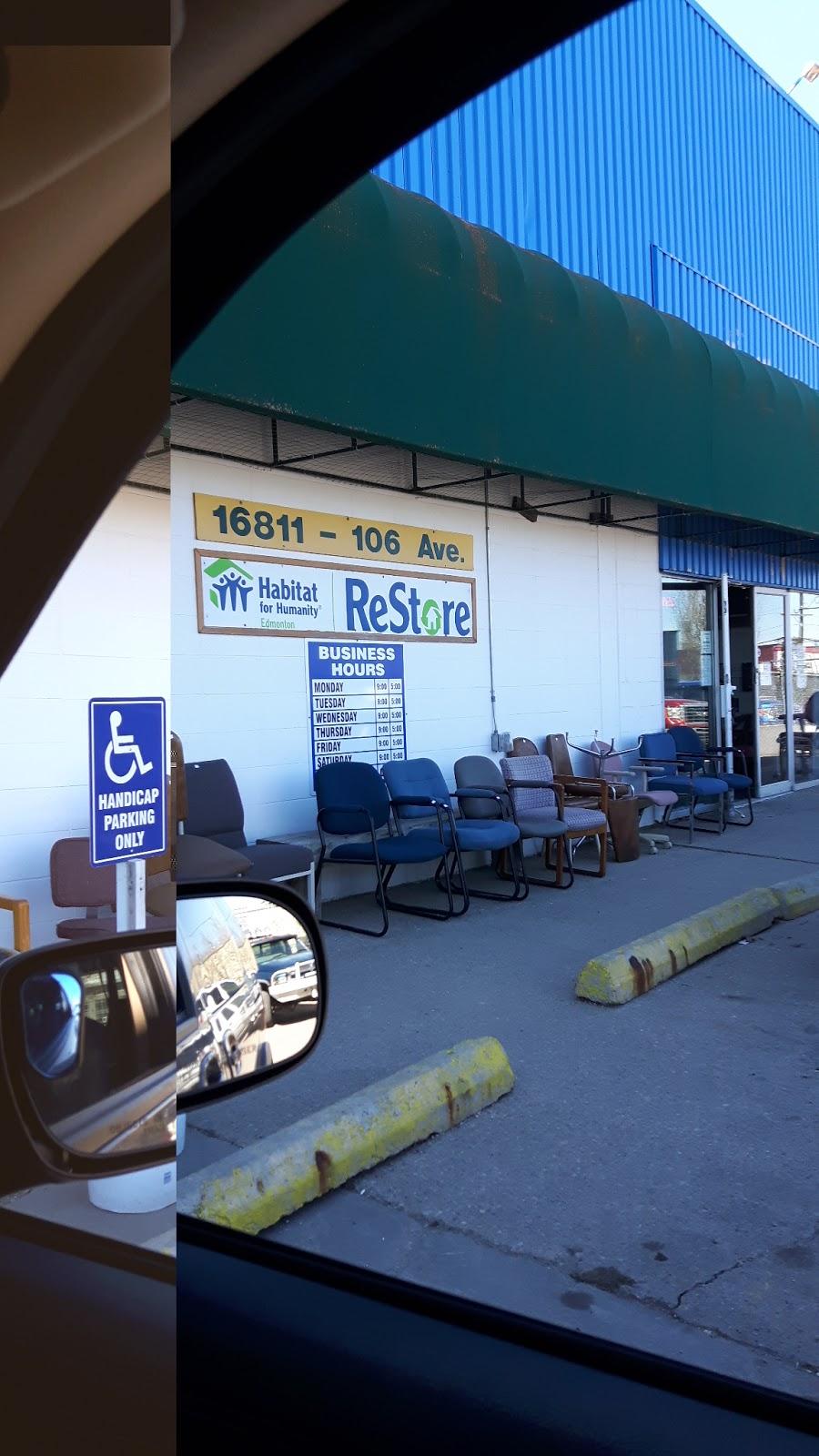 Habitat for Humanity Edmonton - ReStore West   store   16811 106 Ave NW, Edmonton, AB T5P 4G1, Canada   7804550645 OR +1 780-455-0645