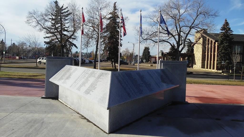 Victoria Cross Memorial Park | park | Kingsway, Edmonton, AB T5G, Canada