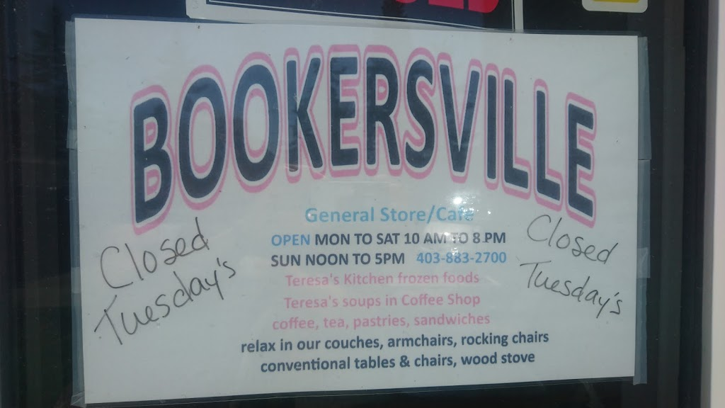 Bookersville General Store & Coffee Shop | cafe | 5030 Main St #5012, Donalda, AB T0B 1H0, Canada | 5879985195 OR +1 587-998-5195