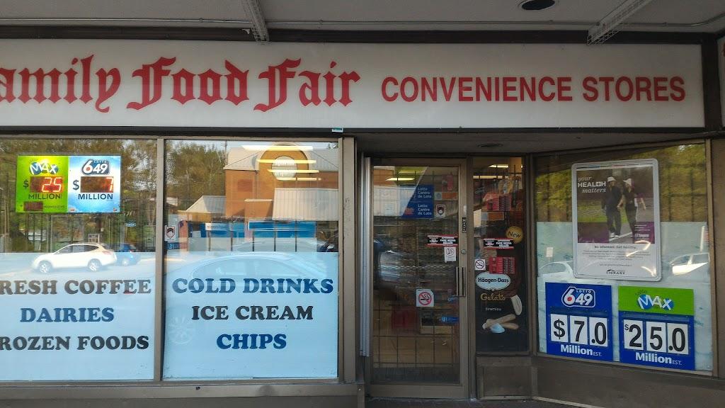 Family Food Fair Convenience Stores | bakery | 90 Halsey Ave, East York, ON M4B 1A9, Canada | 4162855527 OR +1 416-285-5527