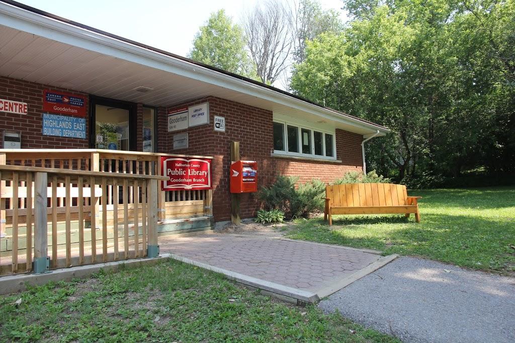 Haliburton County Public Library - Gooderham Branch | library | 1032 Gooderham St, Gooderham, ON K0M 1R0, Canada | 7054473163 OR +1 705-447-3163