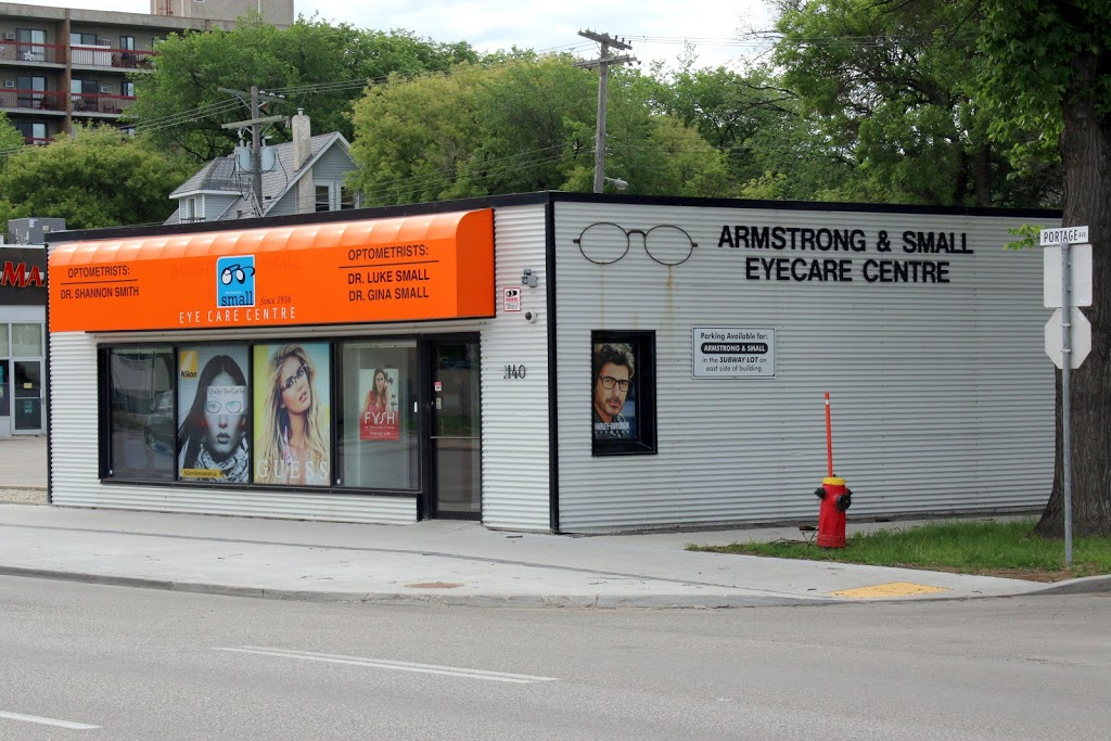 Armstrong & Small Eye Care Centre | health | 1140 Portage Ave, Winnipeg, MB R3G 0S7, Canada | 2047868991 OR +1 204-786-8991
