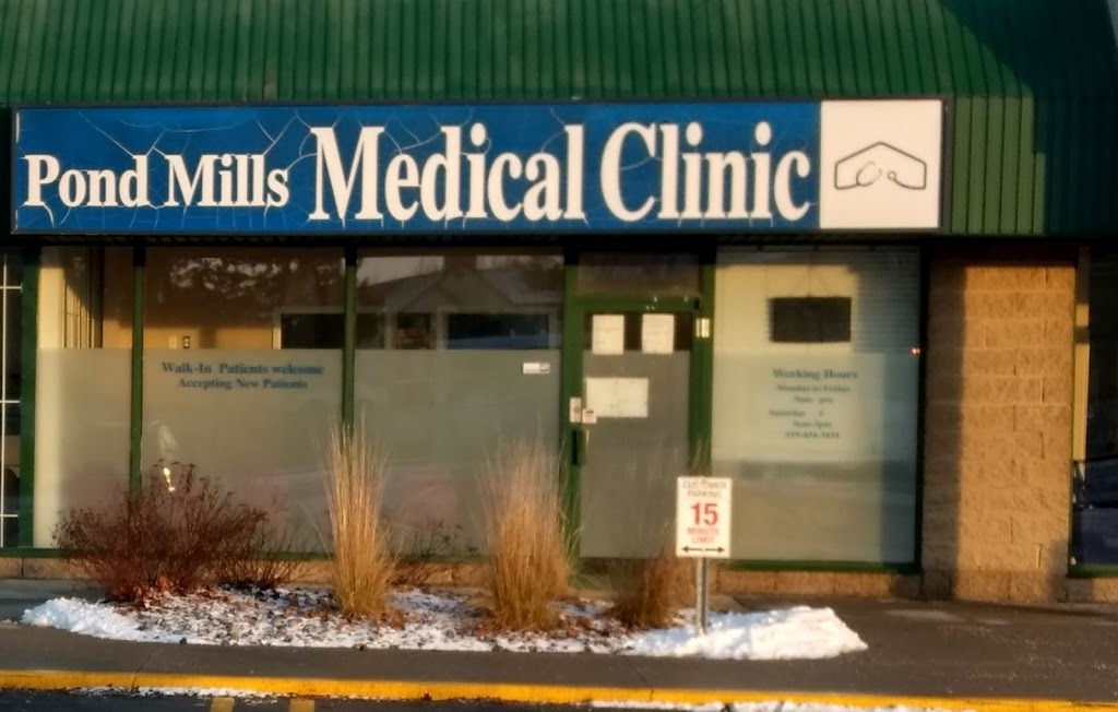 Pond Mills Medical Clinic | health | 1166 Commissioners Rd E #7, London, ON N5Z 4W8, Canada | 5194343434 OR +1 519-434-3434