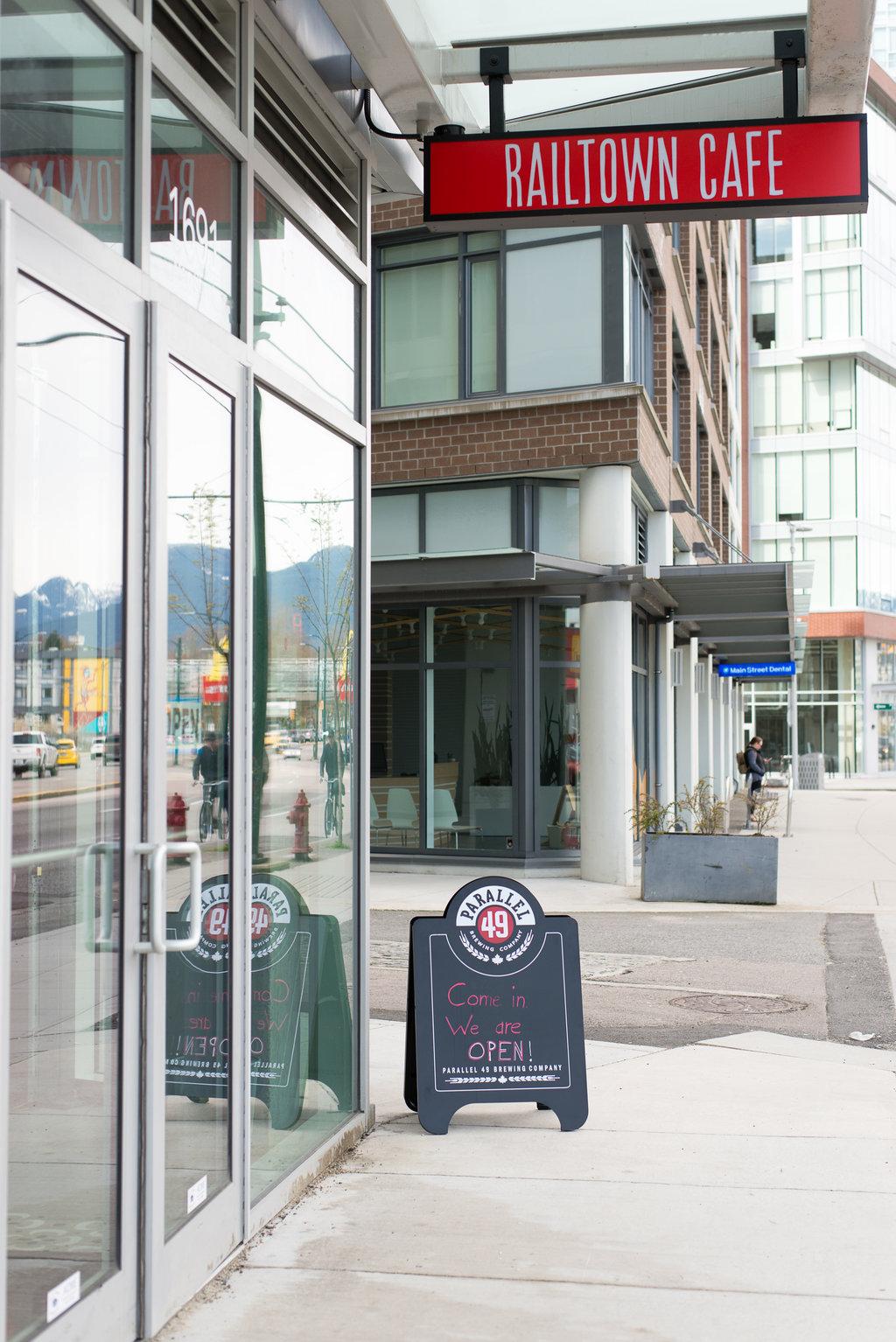 Railtown Café   cafe   1691 Main St, Vancouver, BC V6A 2W5, Canada   6043362251 OR +1 604-336-2251