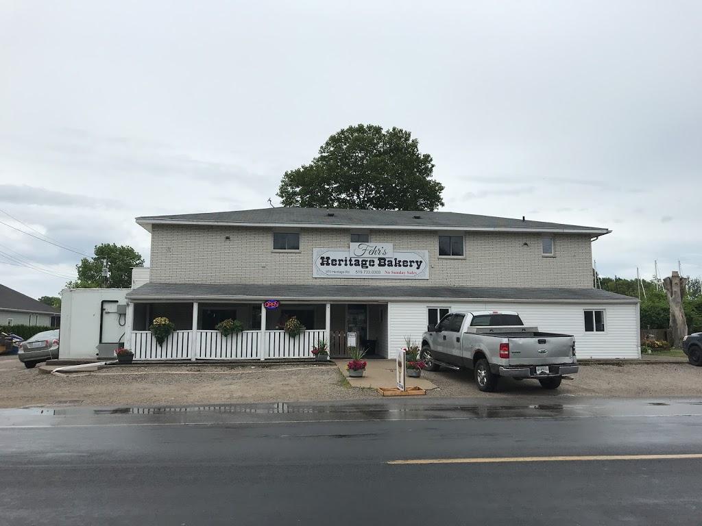 Fehrs Heritage Bakery | bakery | 976 Heritage Rd, Kingsville, ON N9Y 3V2, Canada | 5197330303 OR +1 519-733-0303