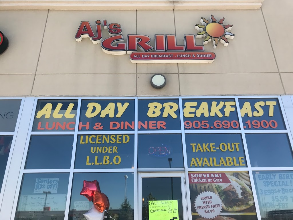 AJs GRILL | restaurant | 94 Dundas St E, Waterdown, ON L9H 0C2, Canada | 9056901900 OR +1 905-690-1900