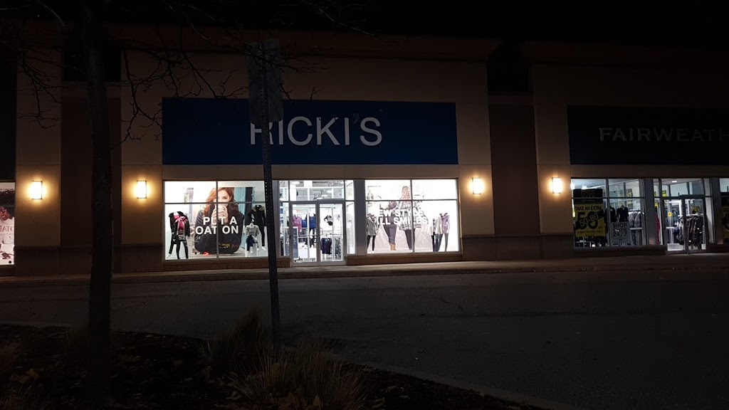 Rickis   clothing store   560 Laval Dr Unit #500, Oshawa, ON L1J 0B5, Canada   9057218114 OR +1 905-721-8114