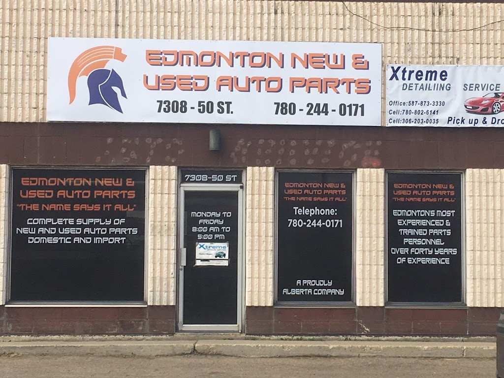 Edmonton New and Used Auto Parts   car repair   7308 50 St NW, Edmonton, AB T6B 2J8, Canada   7802440171 OR +1 780-244-0171