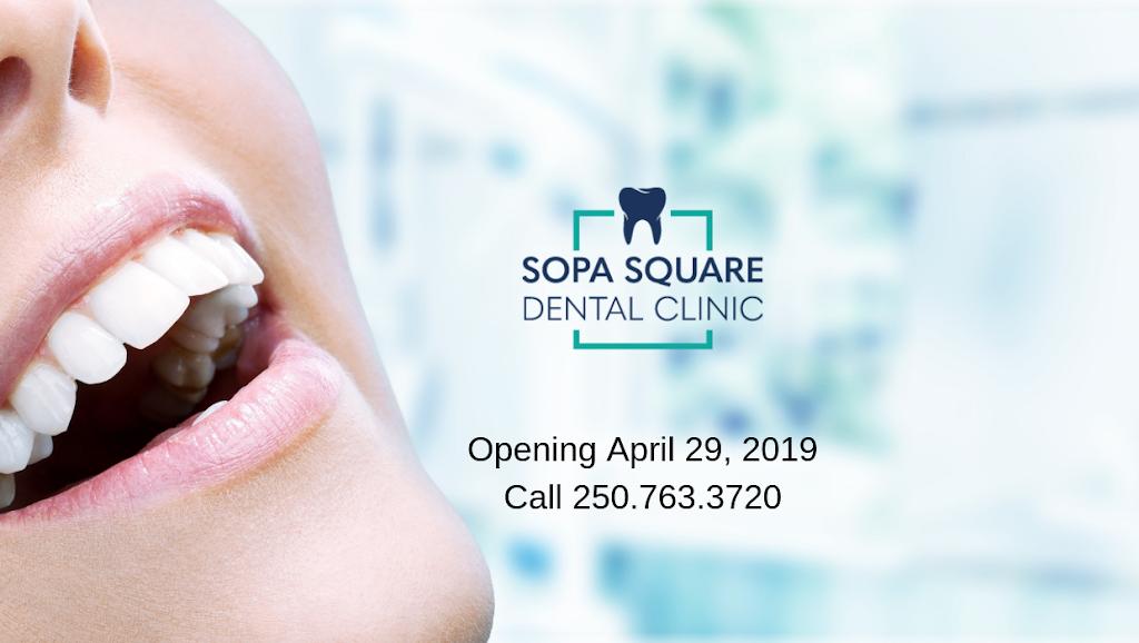 Sopa Square Dental Clinic | dentist | 3030 Pandosy St Suite 209, Kelowna, BC V1Y 0C4, Canada | 2507633720 OR +1 250-763-3720