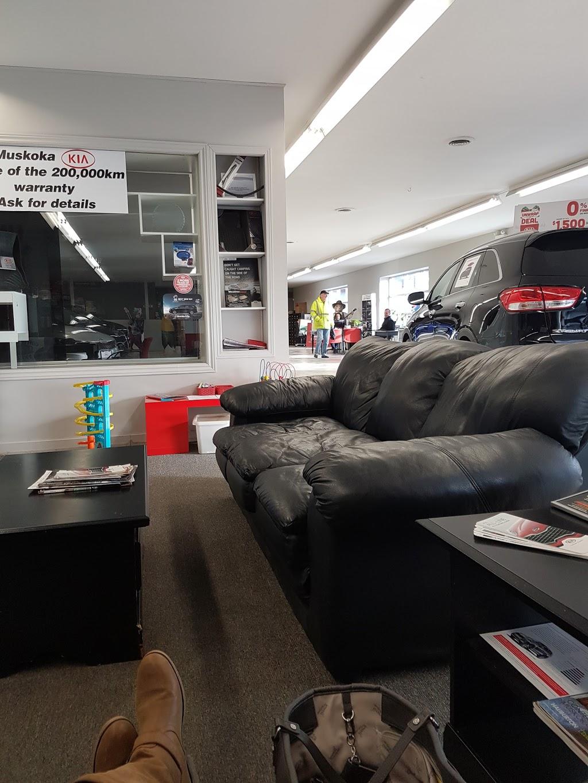 Muskoka Kia   car dealer   21 Robert Dollar Dr, Bracebridge, ON P1L 1P9, Canada   7056456575 OR +1 705-645-6575