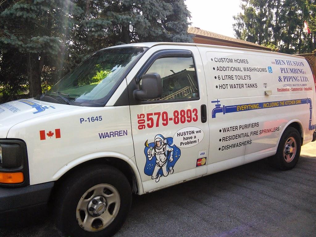Ben Huston Plumbing & Piping Ltd | home goods store | 196 Arena Street, Oshawa, ON L1J 4E1, Canada | 9055798893 OR +1 905-579-8893