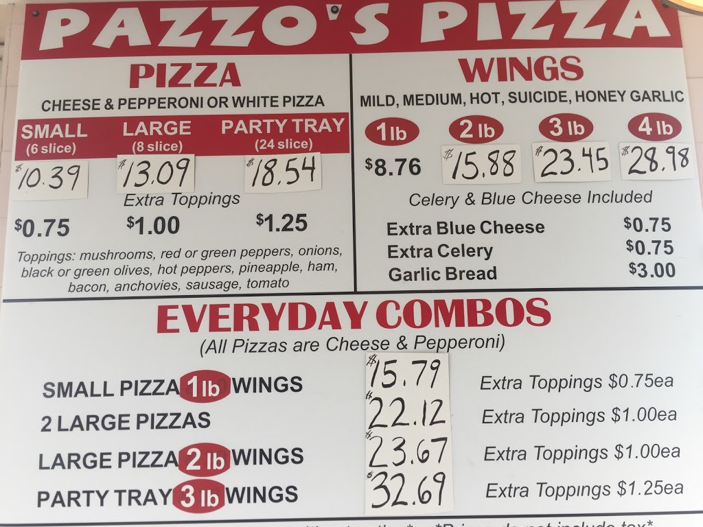 Pazzo S Pizzeria Dunnville 602 Main St W Dunnville On N1a 1w7 Canada