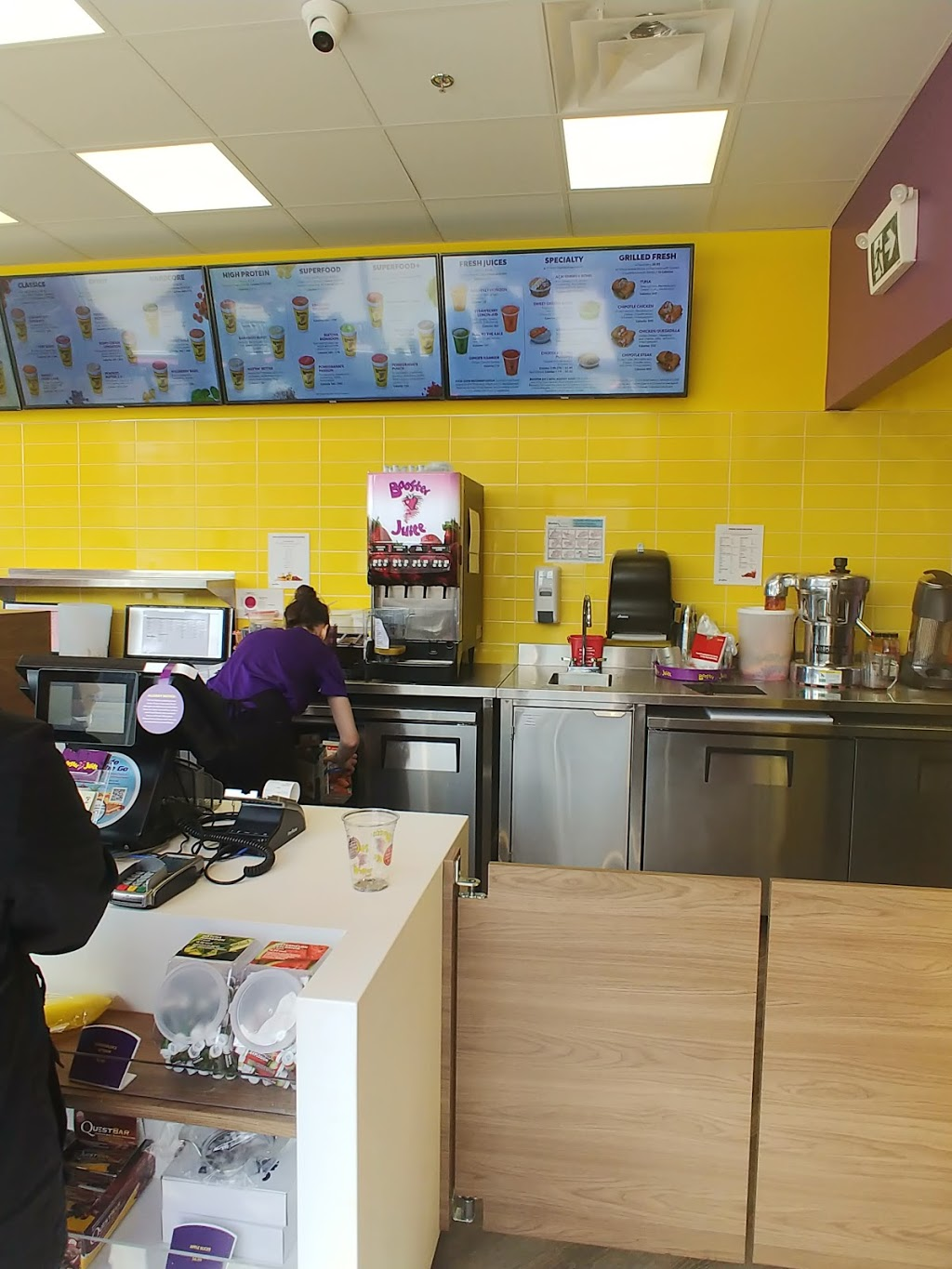 Booster Juice | meal delivery | 42 St Andrews Ave #2, Grimsby, ON L3M 3S2, Canada | 9053097864 OR +1 905-309-7864