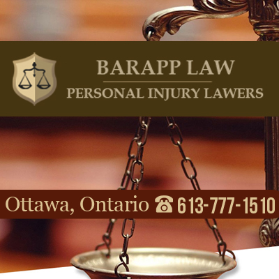 Barapp Personal Injury Lawyer | lawyer | 563 Gladstone Ave Suite 25B, Ottawa, ON K1R 5P2, Canada | 6137771510 OR +1 613-777-1510