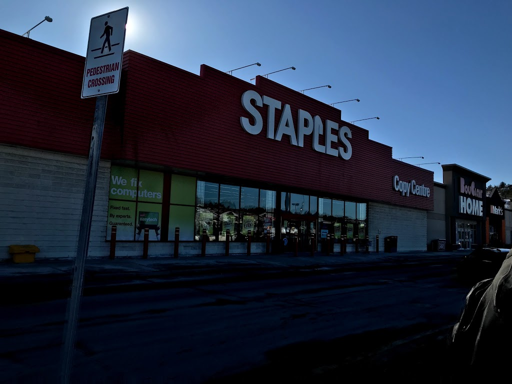 Staples   electronics store   1425 Kingsway, Greater Sudbury, ON P3B 0A2, Canada   7055246227 OR +1 705-524-6227