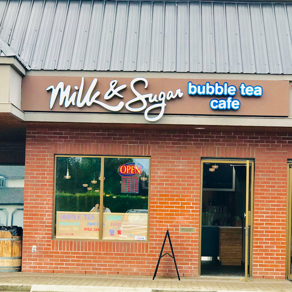 Milk & Sugar Bubble Tea Cafe | cafe | 2-1155 K. L. O. Rd, Kelowna, BC V1Y 4X6, Canada | 7784846111 OR +1 778-484-6111