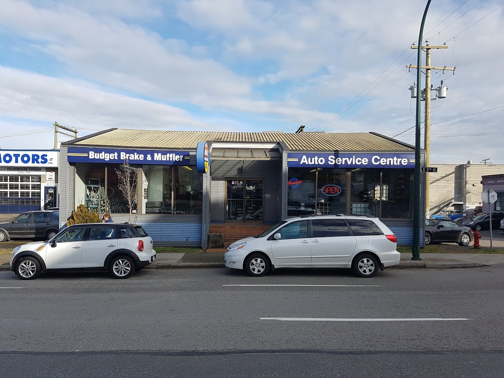 Budget Brake & Muffler Auto Centres | car repair | 245 E 2nd Ave, Vancouver, BC V5T 3B6, Canada | 6048727196 OR +1 604-872-7196