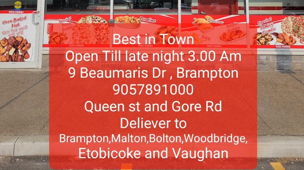 Pizza Fiamma | meal takeaway | 9 Beaumaris Dr Unit 3, Brampton, ON L6T 0J3, Canada | 9057891000 OR +1 905-789-1000