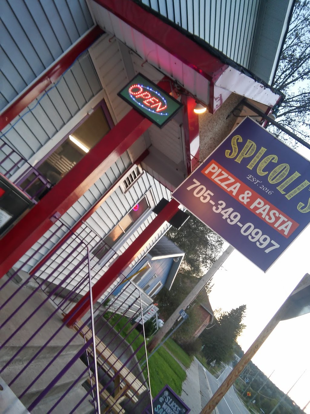 Spicolis Pizza | restaurant | 83 ON-518, Emsdale, ON P0A 1J0, Canada | 7053490997 OR +1 705-349-0997