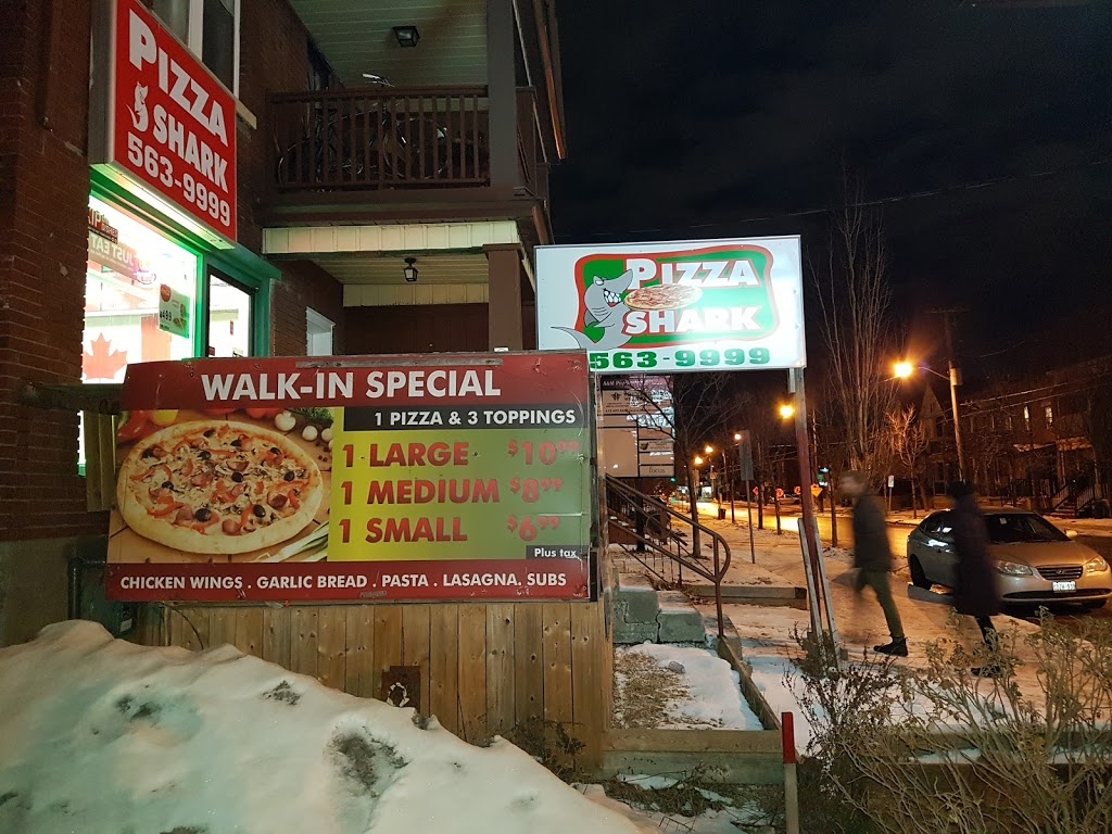 Pizza Shark | meal delivery | 569 Gladstone Ave, Ottawa, ON K1R 5P2, Canada | 6135639999 OR +1 613-563-9999