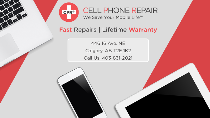 CPR Cell Phone Repair North Calgary | electronics store | 446 16 Ave NE, Calgary, AB T2E 1K2, Canada | 4038312021 OR +1 403-831-2021