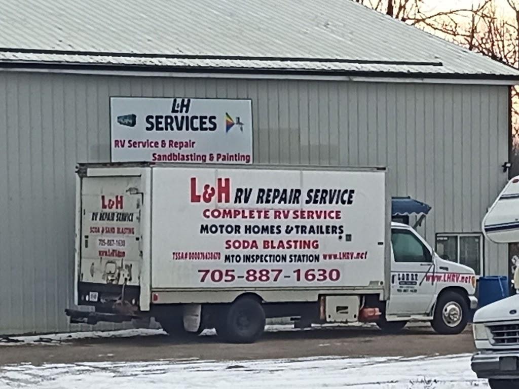 L&H RV Repair Services   car repair   935 Kawartha Lakes County Rd 121, Fenelon Falls, ON K0M 1N0, Canada   7057871630 OR +1 705-787-1630