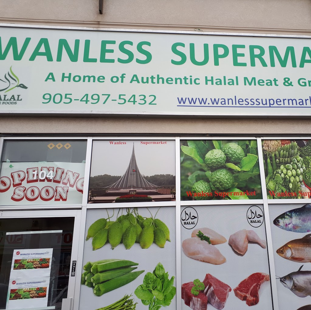 Wanless supermarket | store | 423 Wanless Dr Unit 104, Brampton, ON L7A 0N9, Canada | 9054975432 OR +1 905-497-5432