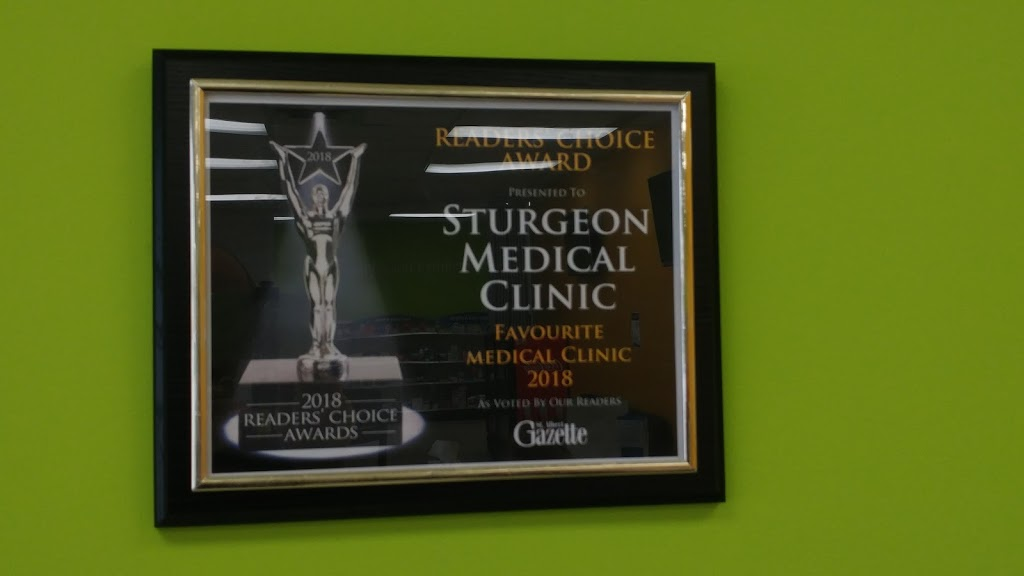 Sturgeon Medical Clinic | doctor | 94 McKenney Ave #30, St. Albert, AB T8N 2T7, Canada | 7804600533 OR +1 780-460-0533