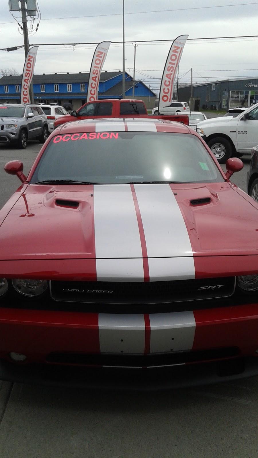 Duclos Valleyfield Chrysler Dodge Jeep RAM INC. | car dealer | 595 Boulevard Monseigneur-Langlois, Salaberry-de-Valleyfield, QC J6S 0B1, Canada | 4503715103 OR +1 450-371-5103